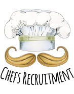 Chefs Recruitment Logo